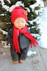Anna in de sneeuw